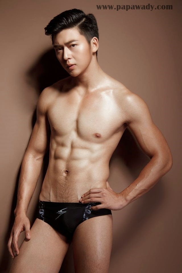 Mr. Asia Myanmar Myo Htut Naing Swim Wear Photo