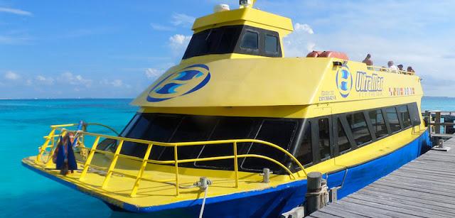 Como chegar na Isla Mujeres em Cancún