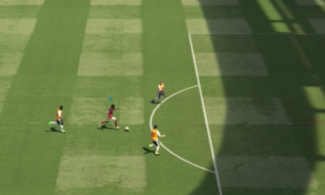 PES2015 : SPRINT AND SHOOTING CHALLENGE