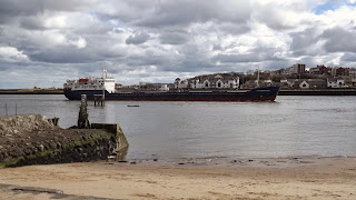 Cargo Ship on the Tyne