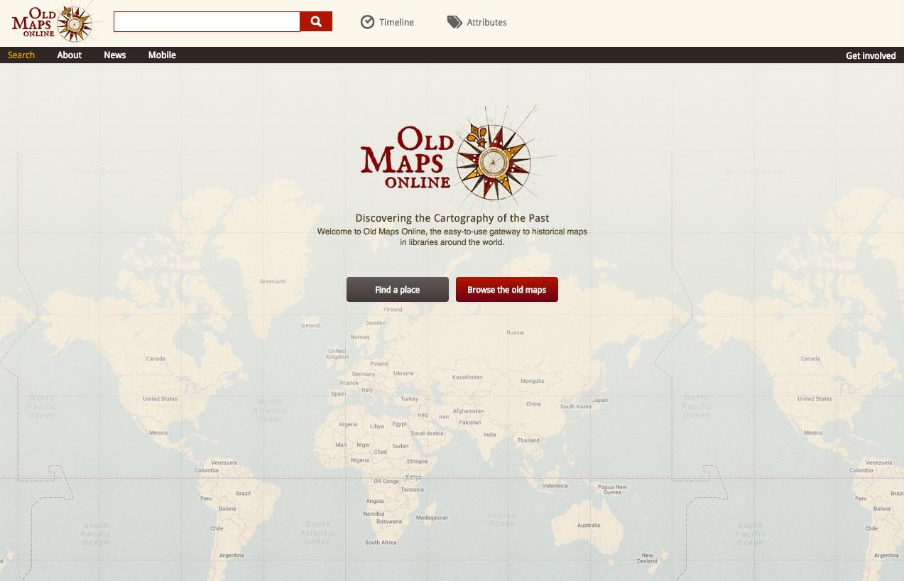 Genealogys Star Major Improvements To OldMapsOnline - Buy old maps online