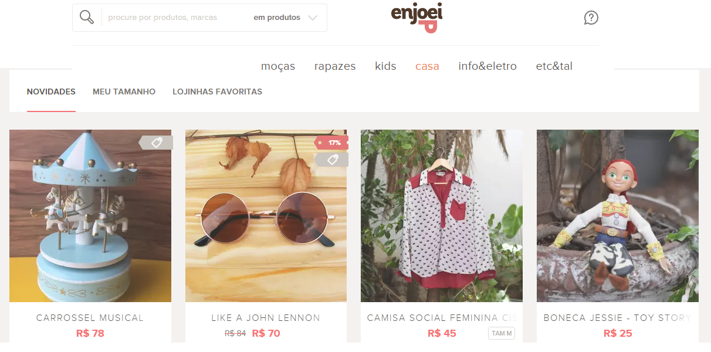 Site Enjoei