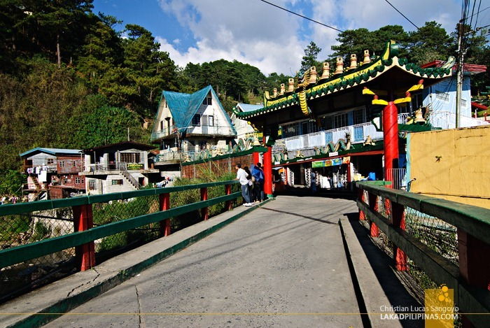 Baguio Bell Church Bridge