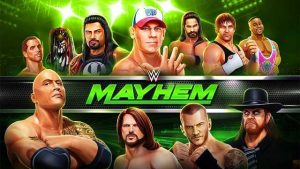 WWE Mayhem MOD APK Unlimited Money v1.3.23 + Data