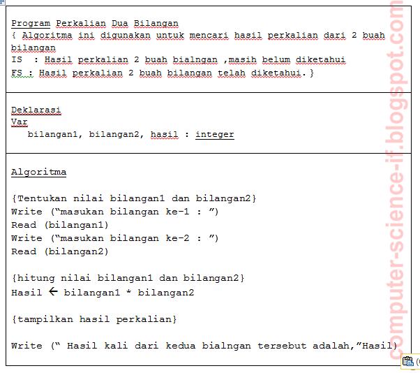 Notasi Algoritma Dan Pemrograman Dc