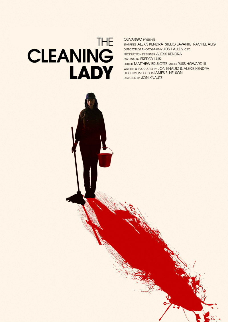THE CLEANING LADY film poster