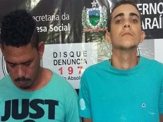Policiais de Picuí prendem acusados de matar comerciante para roubar