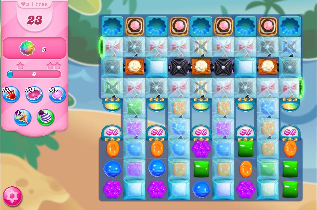 Candy Crush Saga level 7789