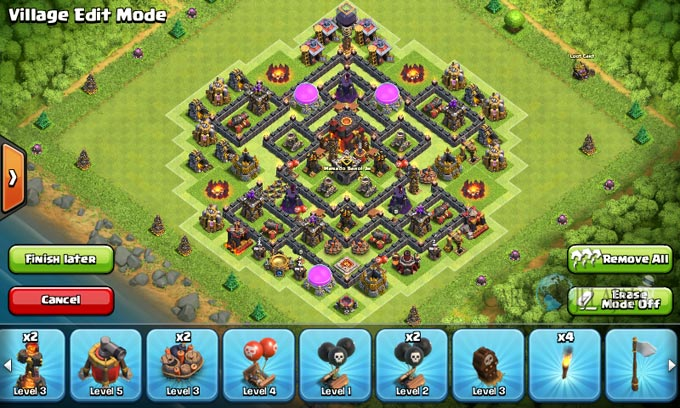 Susunan Formasi Base War TH 8 Update Terbaru 4