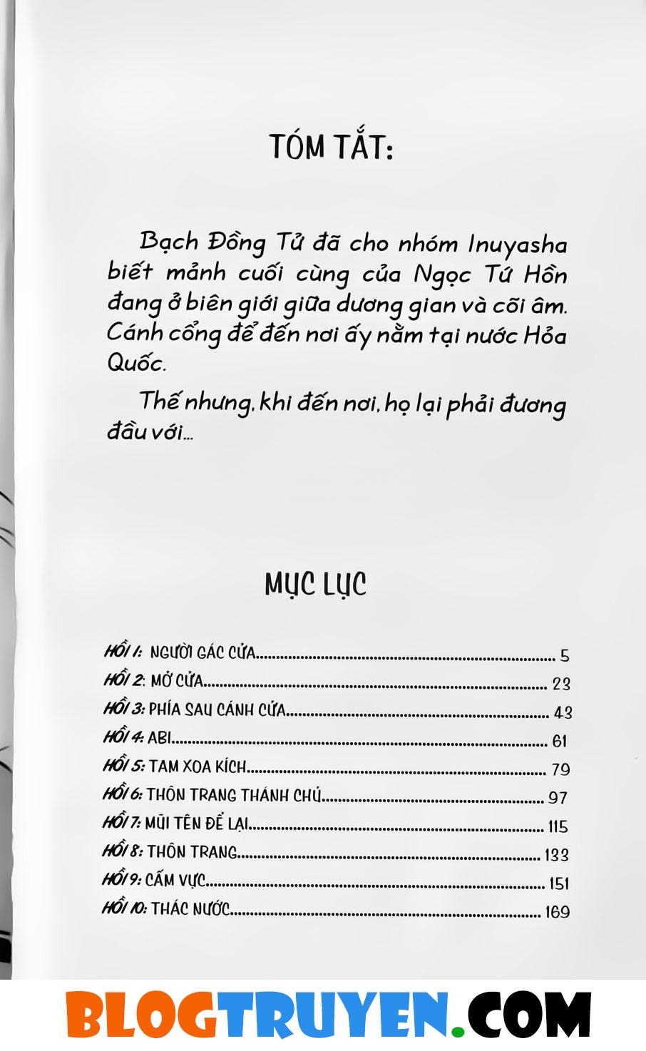 Inuyasha vol 31.1 trang 2