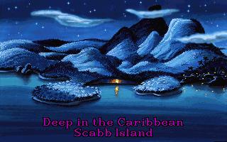 Monkey Island 2 scabb island