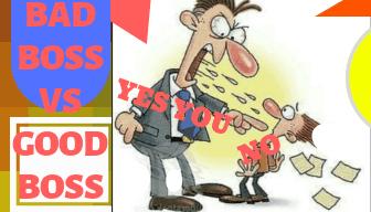 bad boss vs good boss