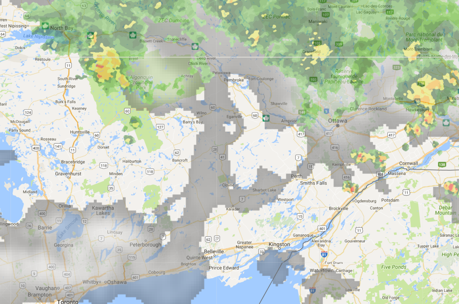 Cottage Country Reflections: August Precipitation & Weather