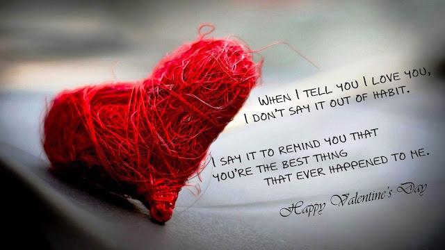 Romantic Valentine's Day Special Quotes