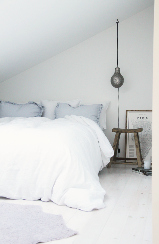 interieur inspiratie met liefde in de slaapkamer