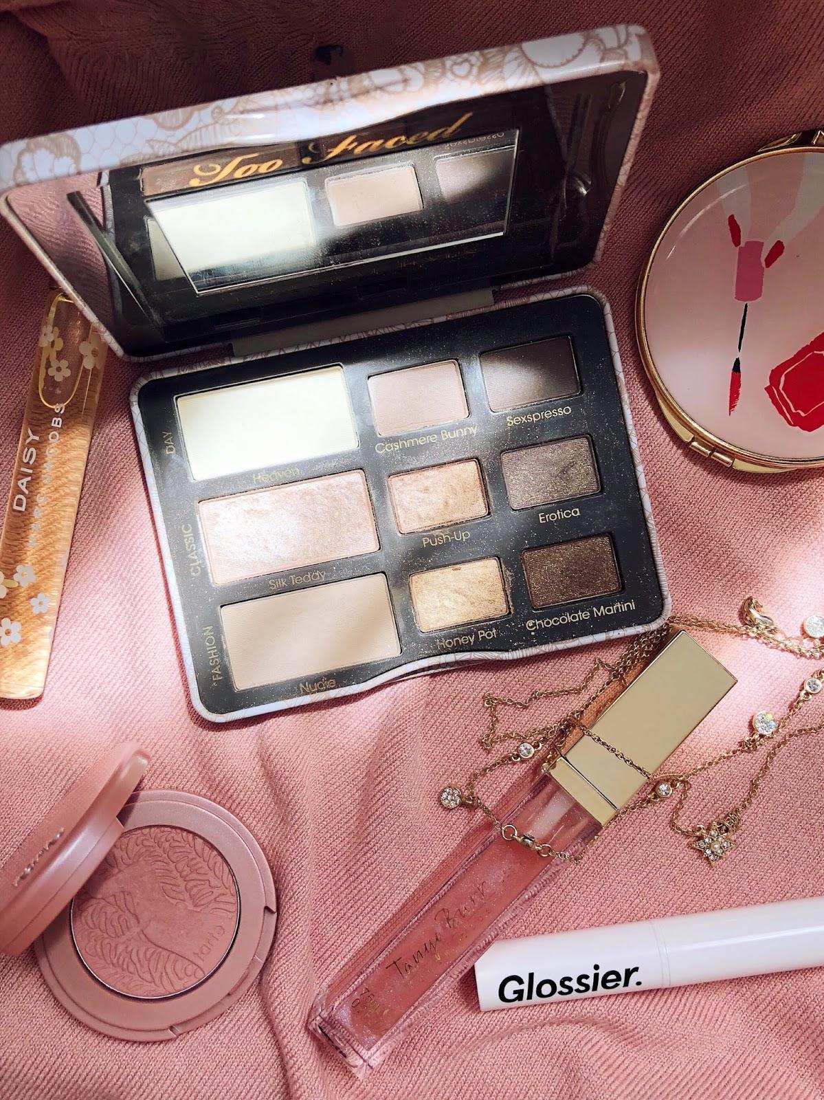 nude lipstick eyeshadow makeup blogger canadian beauty sephora
