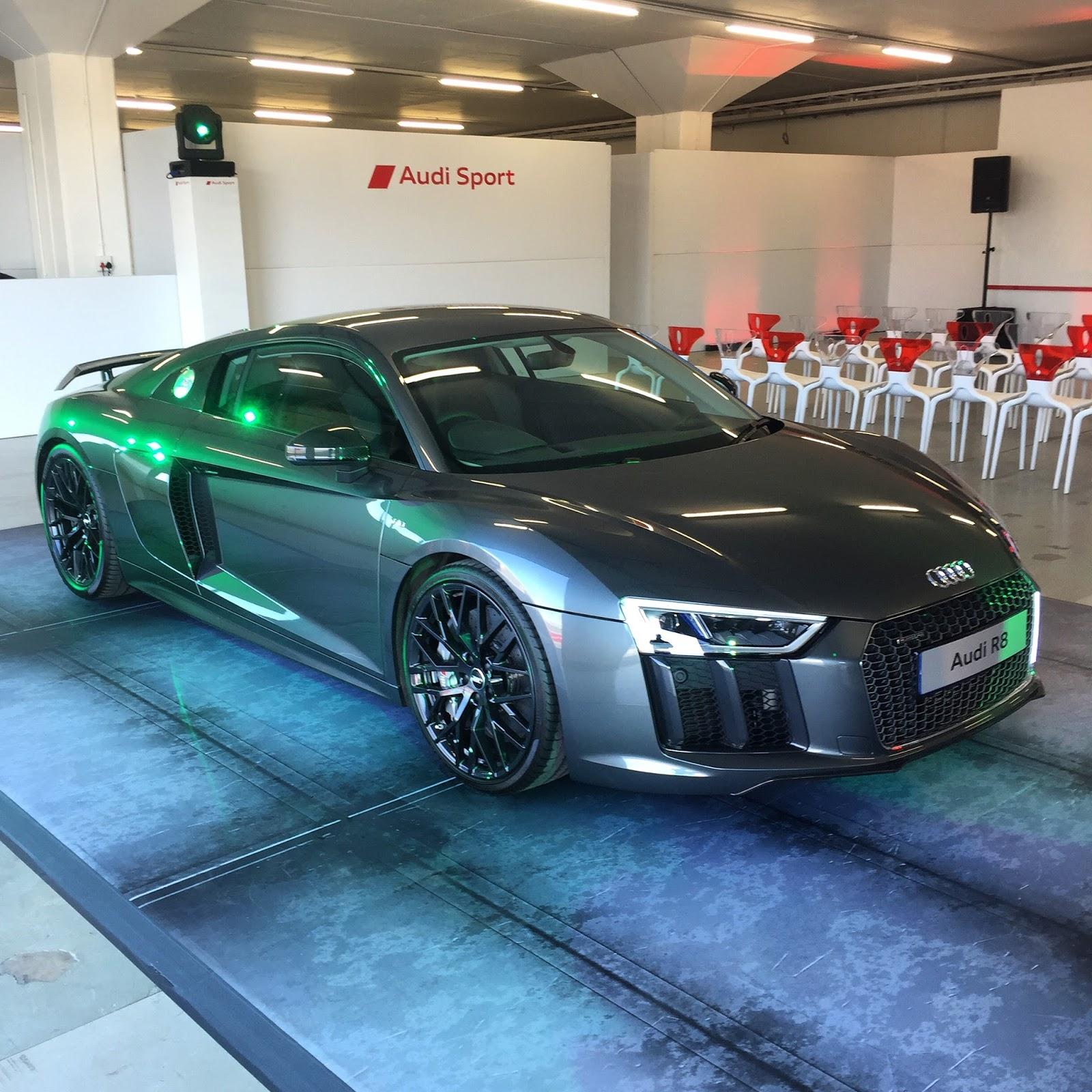 First Drive: Audi R8 V10 Plus