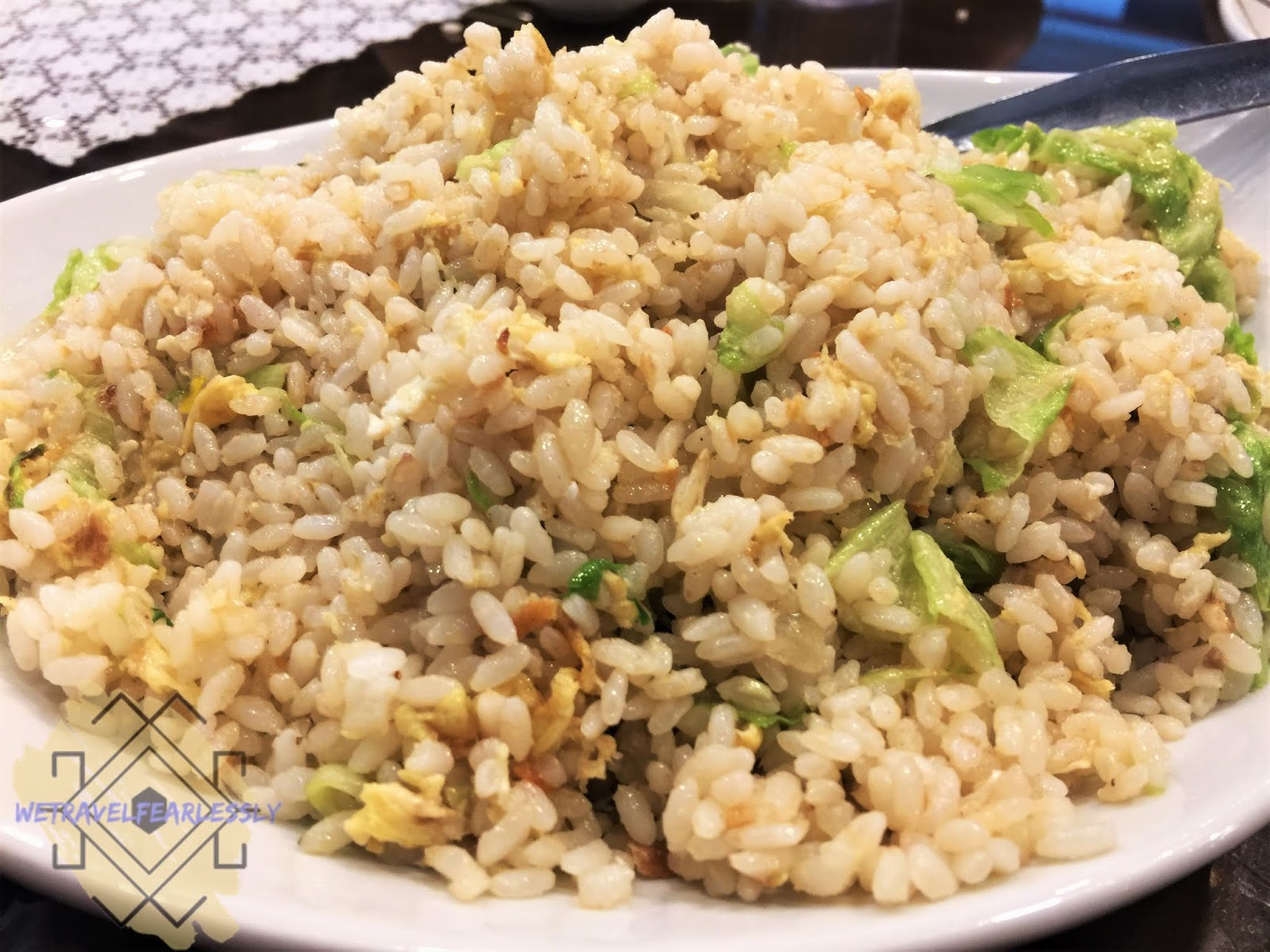 Salted Fish Fried Rice (PHP396) - Tien Ma's Taiwanese Cuisine in Libis, Quezon City - WTF Review