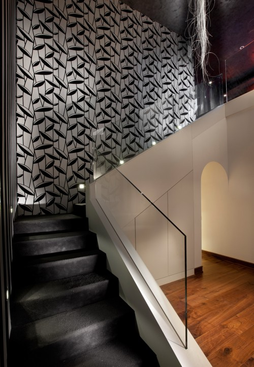 Lighting Basement Washroom Stairs: Interior Design Musings: Stairwell Lighting