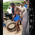 Cable Thief Stripped Unclad In Owerri, Paraded And Beaten Mercilessly (Photos)
