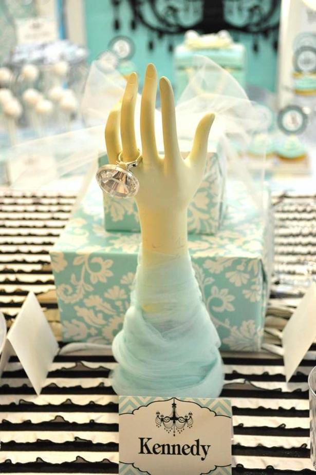 Chá com o Tema Bonequinha de Luxo - Tiffany & Co.