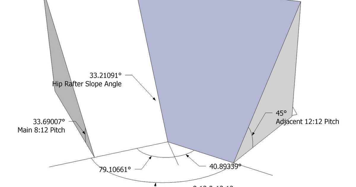 Roof Framing Geometry Irregular Hip Roof Valley Rafter Framing