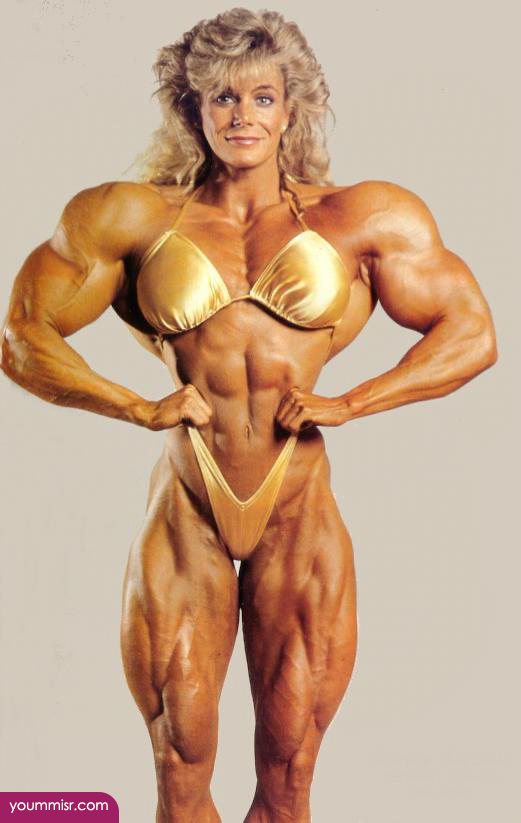 female bodybuilder before and after