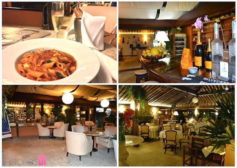 O restaurante Chez Françoise