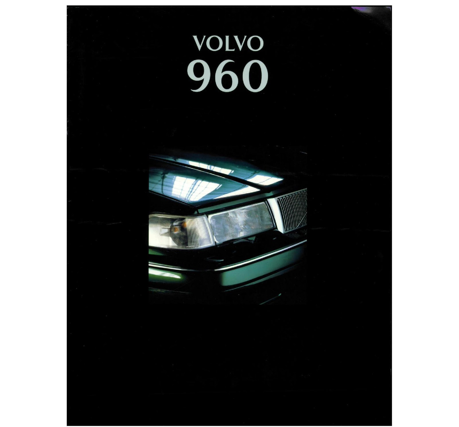 Download A Brochure For Volvo Models: My World Of Volvo: Volvo 960 Brochure (NL