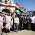 गिद्धौर : सूर्यावत्स के नेतृत्व में विंग कमांडर अभिनन्दन की भारत वापसी पर मनाया गया जश्न