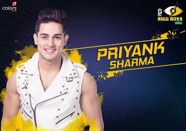 Priyank Sharma (Bigg Boss 11 Contestant)