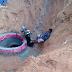 Motociclista caí em cratera na av. Itapetinga pela madrugada