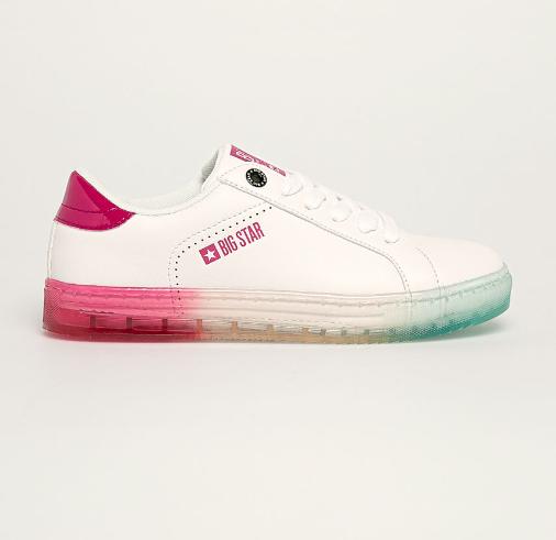 Big Star - Pantofi sport de femei albi de firma la pret mic la moda