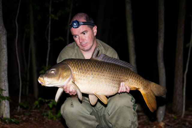Carp Fishing Night Time Run