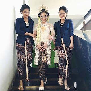 Inspirasi Kebaya Pernikahan Indonesia