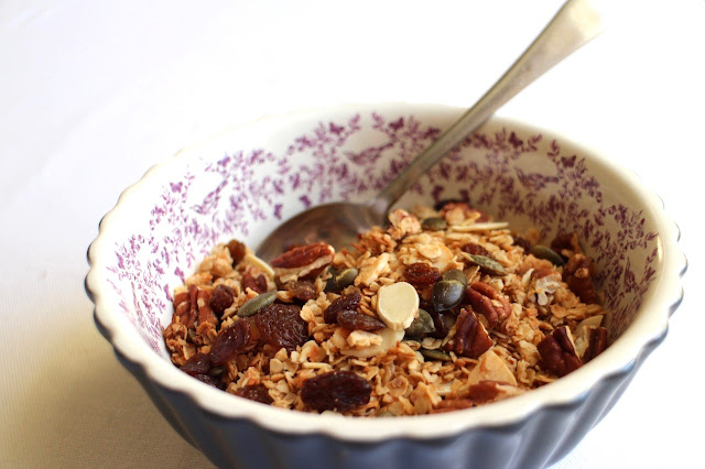 Coconut, Pecan and Almond Granola