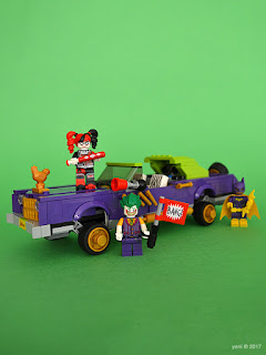 the lego batman movie - the joker notorious lowrider - pimp that ride mr j