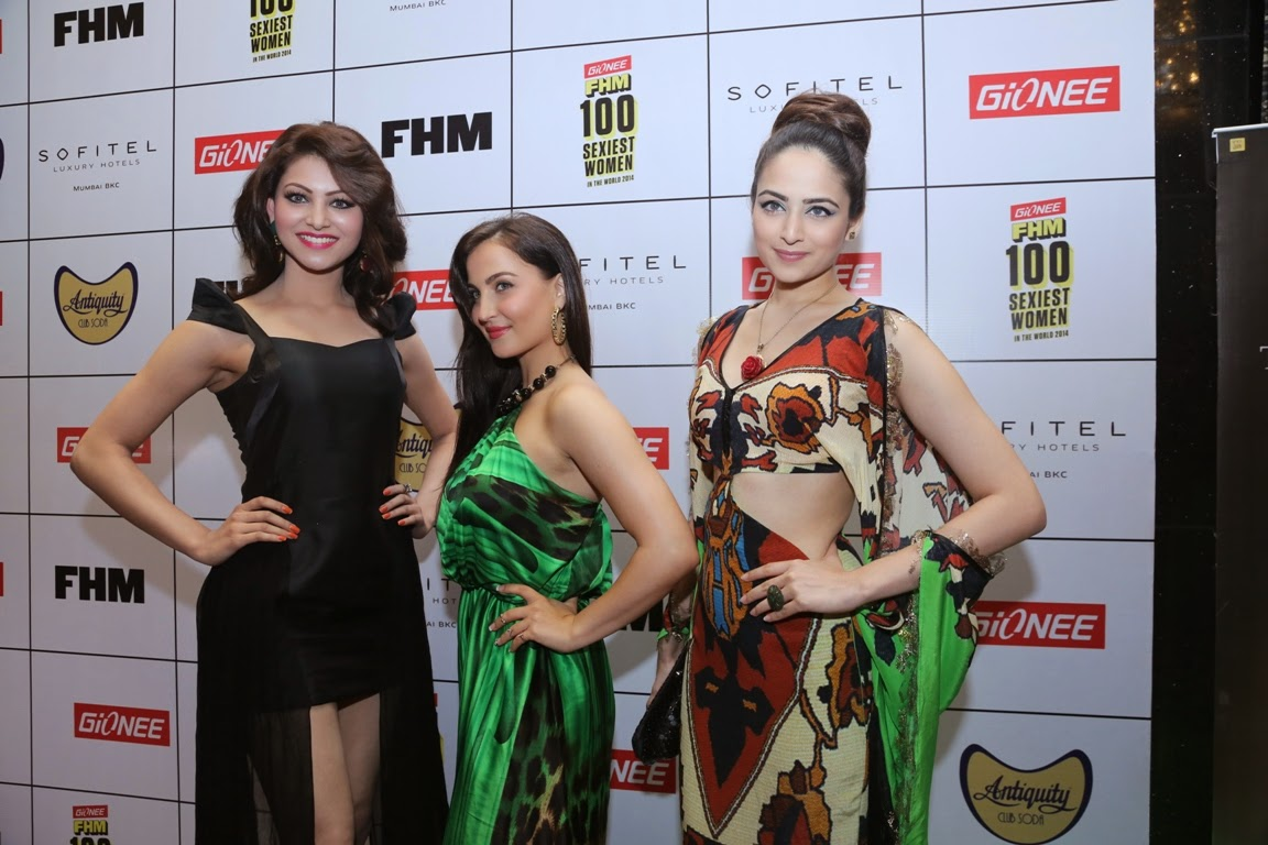 Celebs at Gionee FHM Sexiest 100