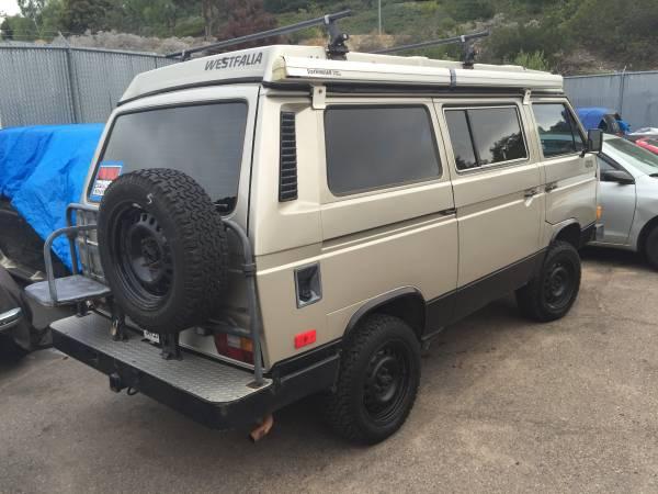 1986 VW Westfalia Vanagon Syncro Camper Van - Buy Classic Volks