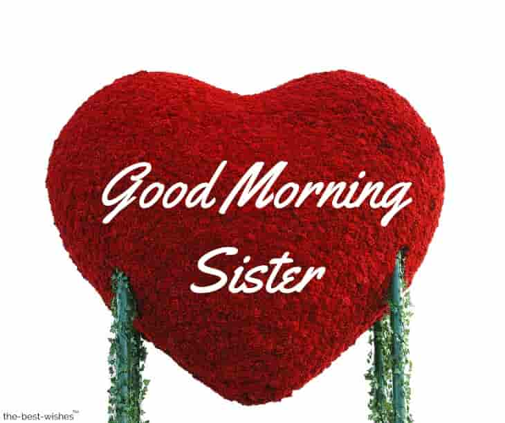good morning my elder sister