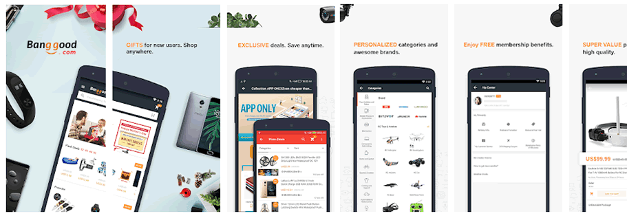 Banggood Shopping app
