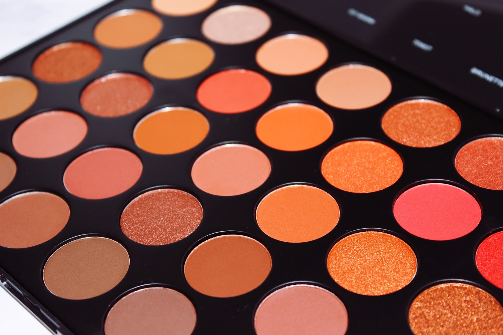 Morphe 35o2 Quot Second Nature Quot Palette Swatches The Ra