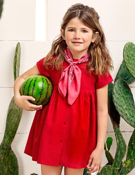 Vestidosprimavera verano 2018 Paula Cahen D'Anvers Niños.
