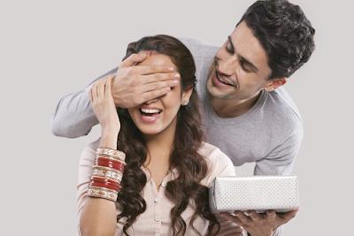 Indian lovers celebrating Rakshabandhan