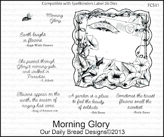 Our Daily Bread Designs, Morning Glory