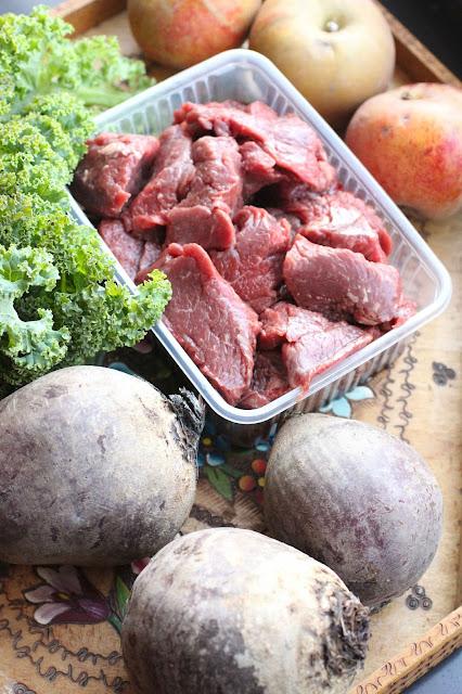type de viande pour soupe borscht