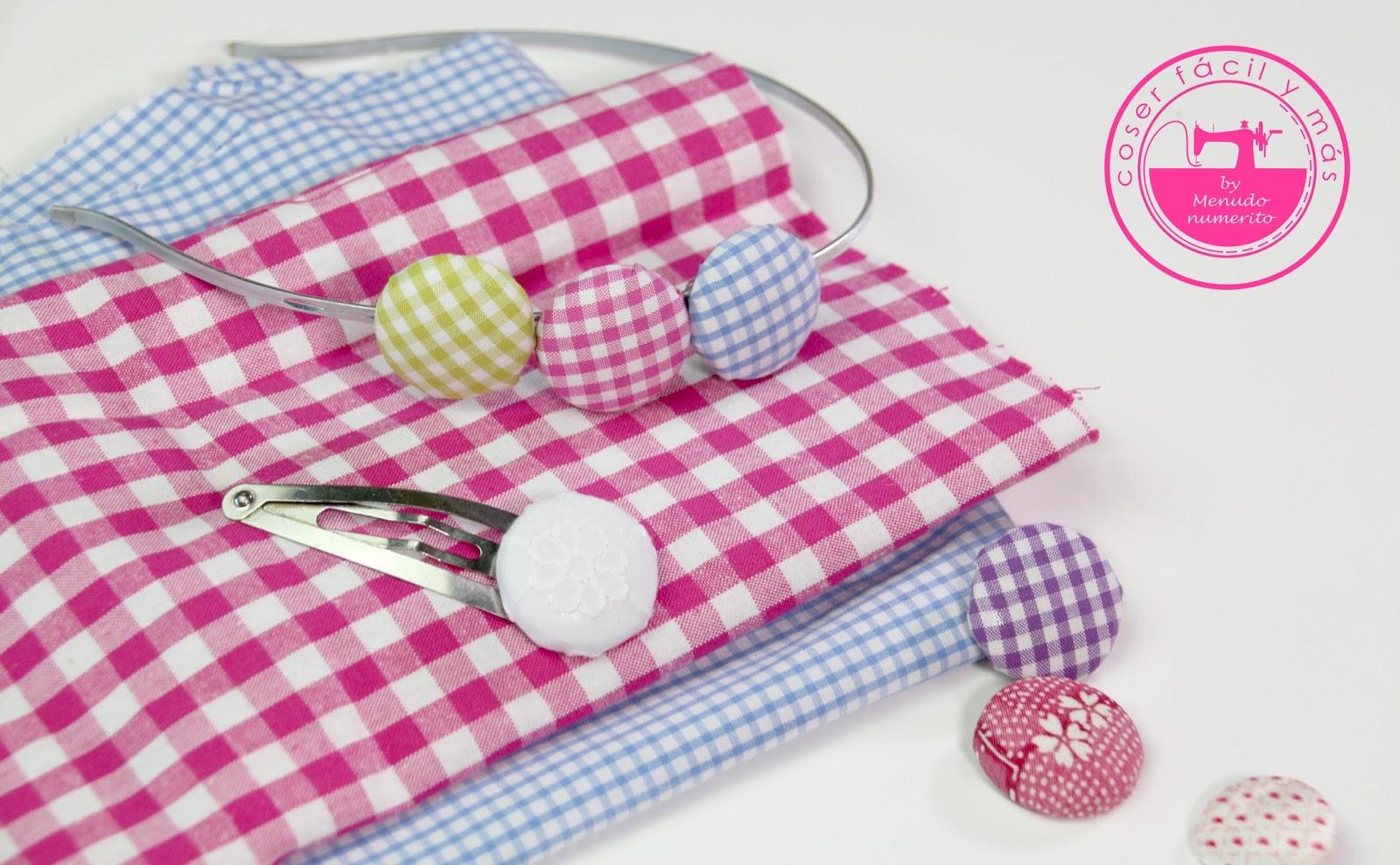 C mo forrar botones f cilmente el blog de coser f cil y - Forrar sillas con tela ...