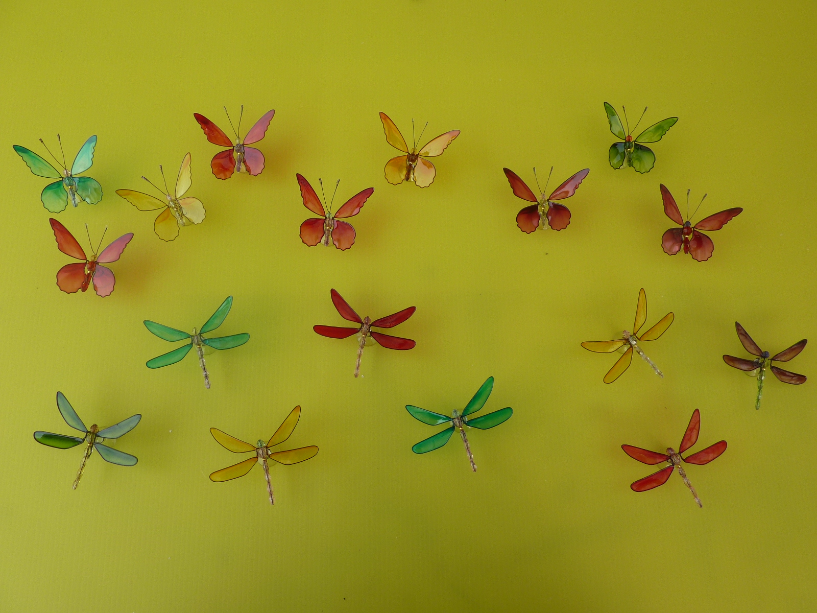 Dragonfly arts and crafts - Dragonfly Butterfly Sun Catchers Available In Units Only