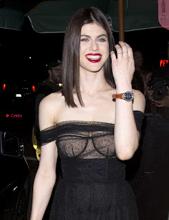 Alexandra Daddario Showing off her  in transparent top at Dior Addict Lacquer Pump Launch ~ Celebs.in Exclusive 014.jpg