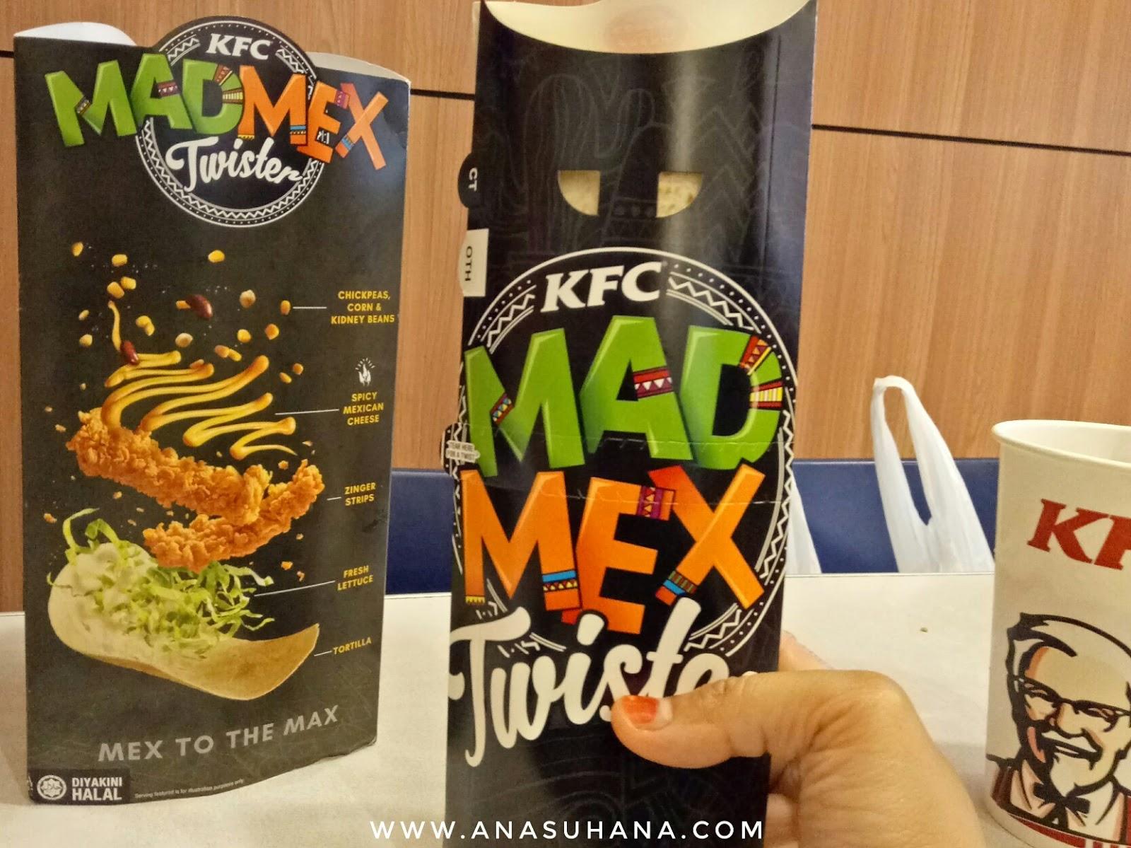 KFC Mad Mex Twister